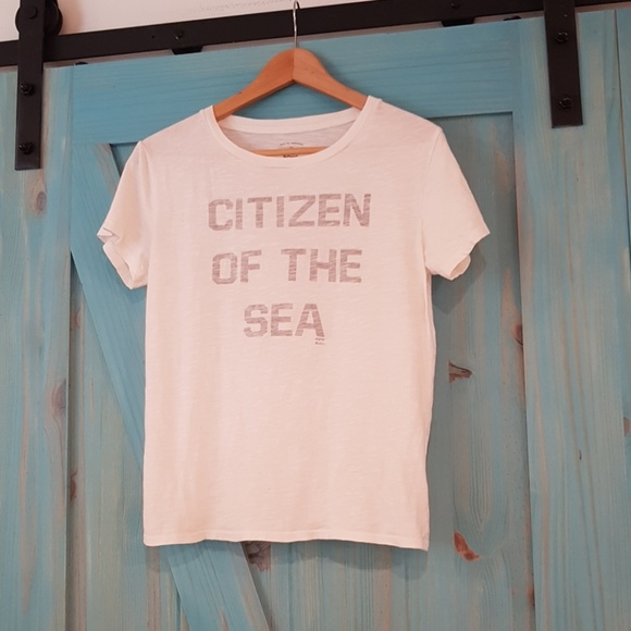 """Billabong Tops - Billabong """"Citizen of the Sea"""" tee S"""